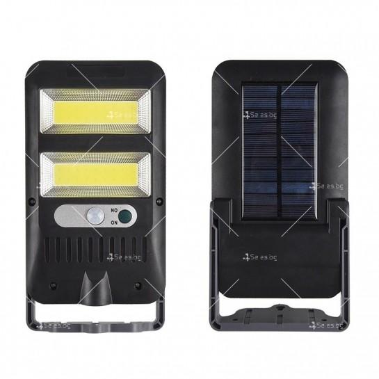 Водоустойчив соларен прожектор 36COB с 8W мощност H LED20