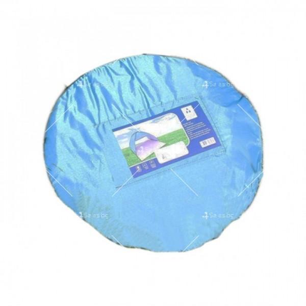 Саморазгъваща се лятна двуместна палатка за плаж или къмпинг PALAT5 9