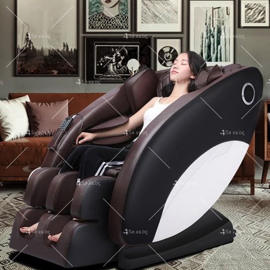 Иновативен масажиращ стол тип космическа капсула за цялото тяло модел Y03