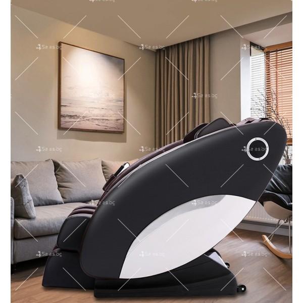 Иновативен масажиращ стол тип космическа капсула за цялото тяло модел Y03 2