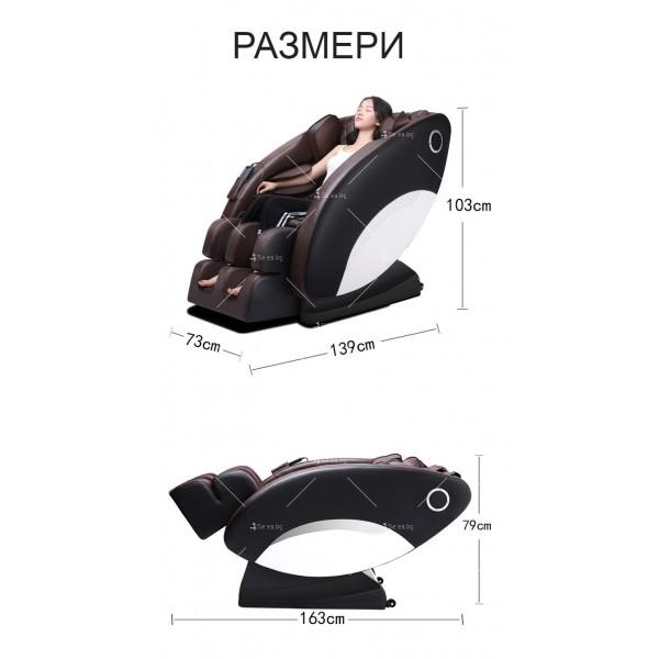 Иновативен масажиращ стол тип космическа капсула за цялото тяло модел Y03 3