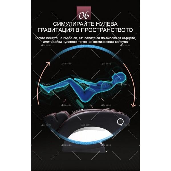 Иновативен масажиращ стол тип космическа капсула за цялото тяло модел Y03 10