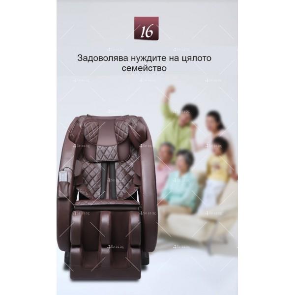 Иновативен масажиращ стол тип космическа капсула за цялото тяло модел Y03 20