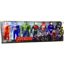 Комплект от седем супер героя от спасителния отряд на Отмъстителите