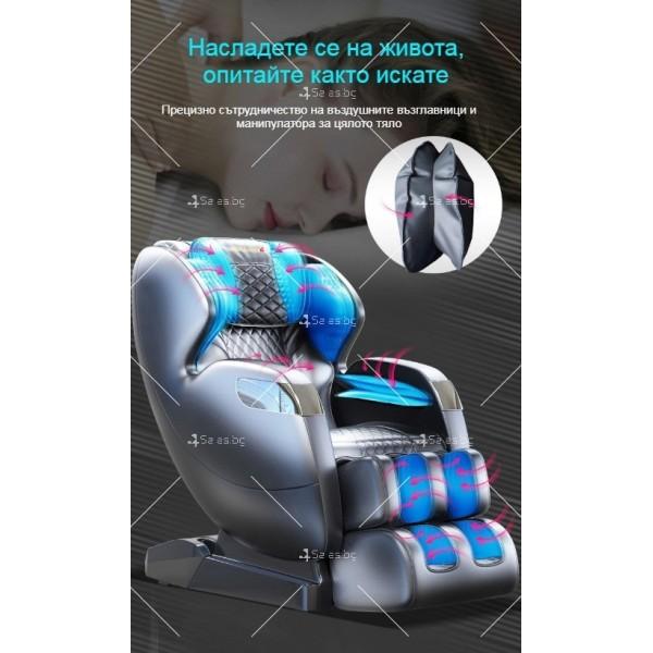 Луксозен масажен стол с Bluetooth и различни масажни техники модел X8L 9