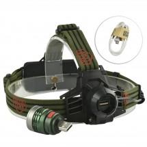 Електрически фенер челник с ярка светлина, разглобяема крушка с USB порт FL54