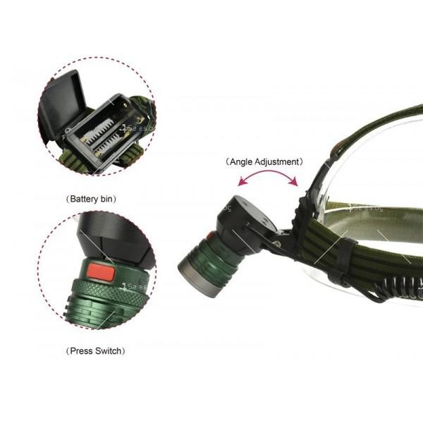 Електрически фенер челник с ярка светлина, разглобяема крушка с USB порт FL54 4