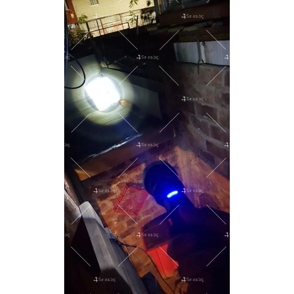Мощен иновативен, портативен LED фенер с USB зареждане XHP70.2 - FL52 10