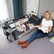 Многофункционално преносимо детско легло-люлка с различни аксесоари Brotish TV516 3
