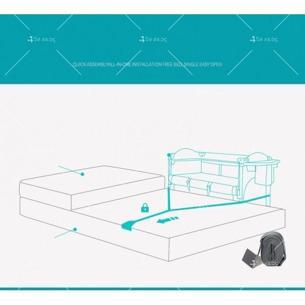 Многофункционално преносимо детско легло-люлка с различни аксесоари Brotish TV516 13