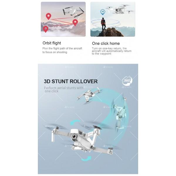 Иновативен мини дрон с висока резолюция от 4К HD - DRON E59 (4K+BAG) 15