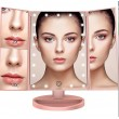 Тристранно сгъваемо огледало в три цвята с вградени Led светлини TV527 5