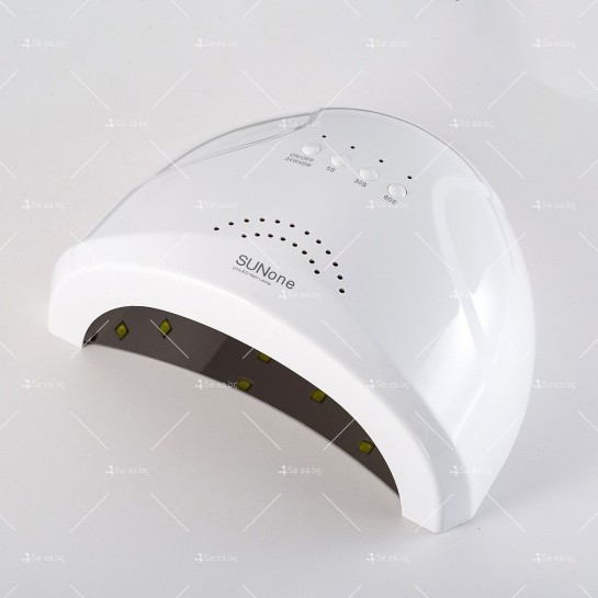 Лампа за маникюр SUNone с мощност 48W, последна манипулация след лакиране MK9