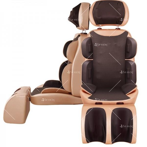 масажиращ стол с 4 секции, специализиран в масажа на шийните прешлени TV285