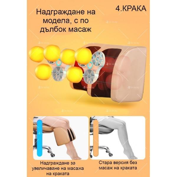 масажиращ стол с 4 секции, специализиран в масажа на шийните прешлени TV285 14
