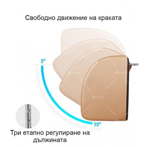 масажиращ стол с 4 секции, специализиран в масажа на шийните прешлени TV285 25