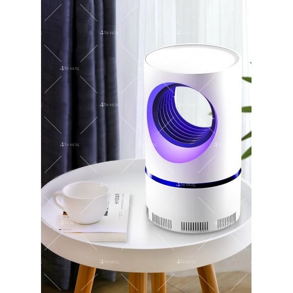 UV лампа против комари с лилава светлина и засмукваща функция TV528 2