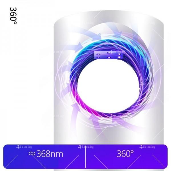 UV лампа против комари с лилава светлина и засмукваща функция TV528 5