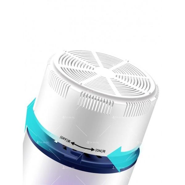UV лампа против комари с лилава светлина и засмукваща функция TV528 6