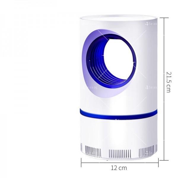 UV лампа против комари с лилава светлина и засмукваща функция TV528 7