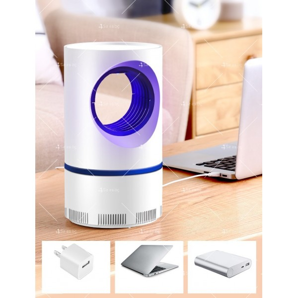UV лампа против комари с лилава светлина и засмукваща функция TV528 9