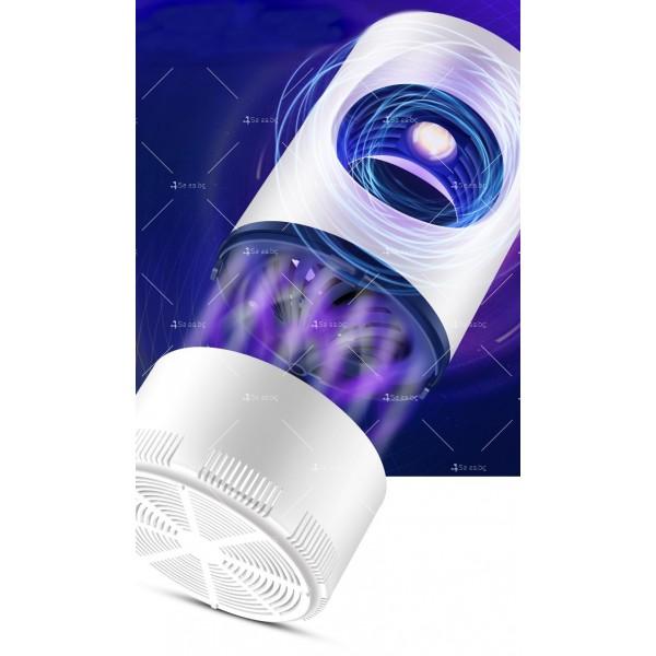 UV лампа против комари с лилава светлина и засмукваща функция TV528 10