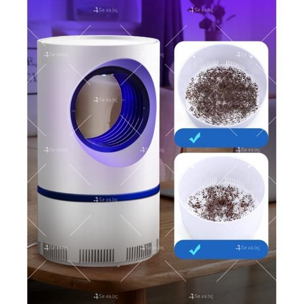 UV лампа против комари с лилава светлина и засмукваща функция TV528 3