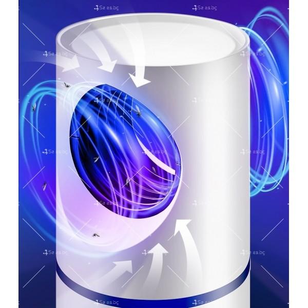 UV лампа против комари с лилава светлина и засмукваща функция TV528 11