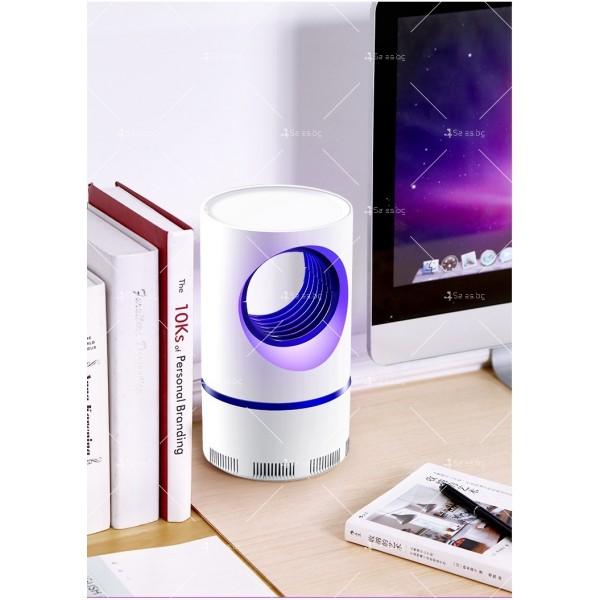 UV лампа против комари с лилава светлина и засмукваща функция TV528 14