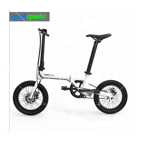 Мини сгъваем електрически велосипед BIKE- 4 4