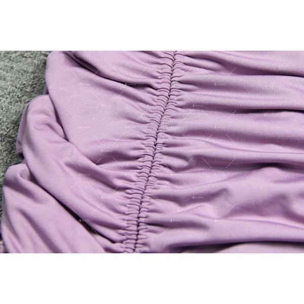 Мини дамска рокля с тънки презрамки в четири цвята FZ60 11
