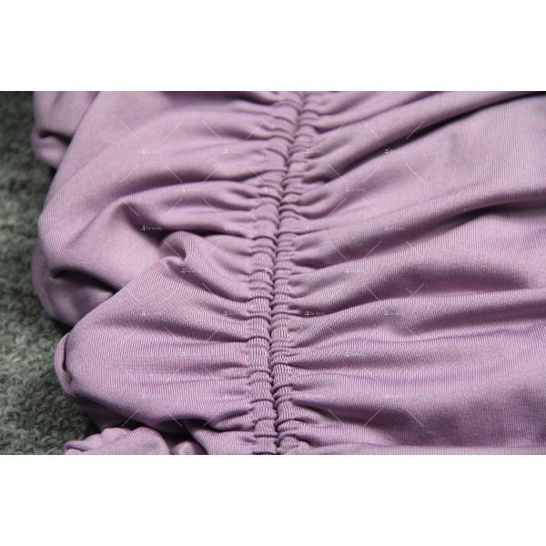 Мини дамска рокля с тънки презрамки в четири цвята FZ60 14