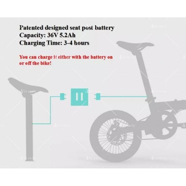 Мини сгъваем електрически велосипед BIKE- 4 8