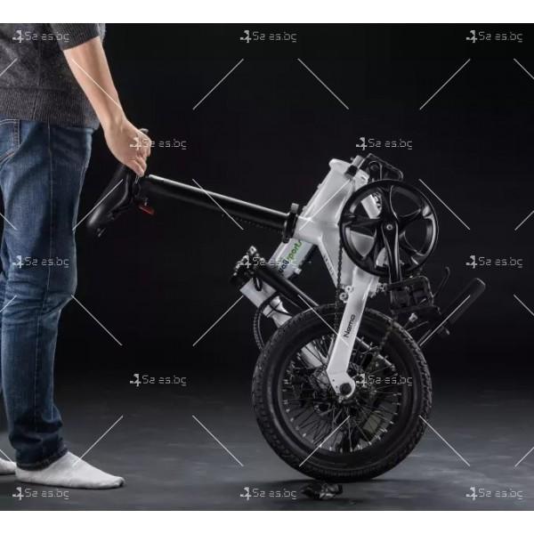 Мини сгъваем електрически велосипед BIKE- 4 11