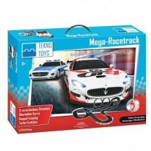 Интересен комплект два броя състезателни коли + автописта Tekno Toys