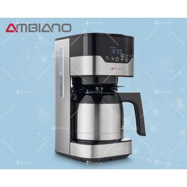 Модерна кафе машина с капацитет 900W с филтри и функция ThermoS 5