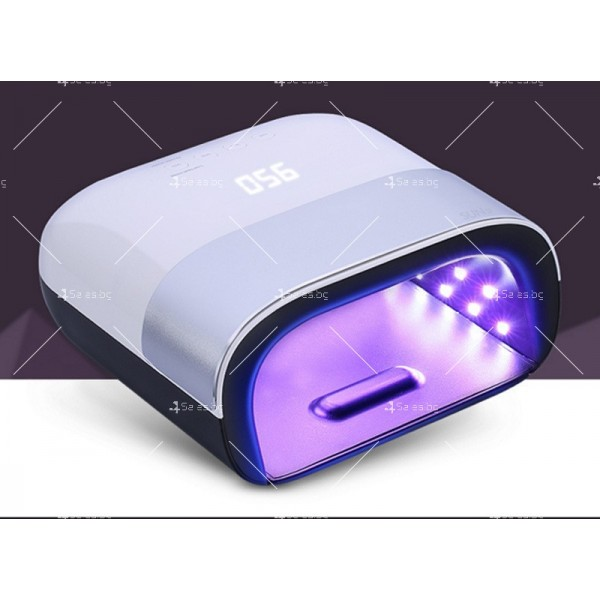Иновативна UV LED лампа за маникюр SUN3, с мощност 48w - MK11 5