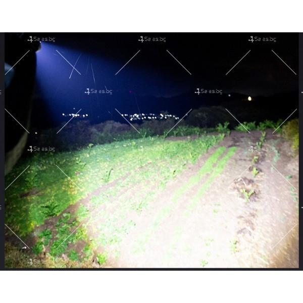 Малко фенерче с XHP70 силна светлина и интелигентен OLED дисплей FL69 6