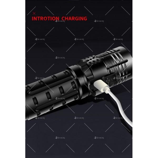 Малко фенерче с XHP70 силна светлина и интелигентен OLED дисплей FL69 10