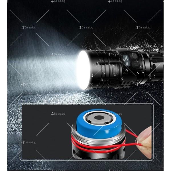 Малко фенерче с XHP70 силна светлина и интелигентен OLED дисплей FL69 15