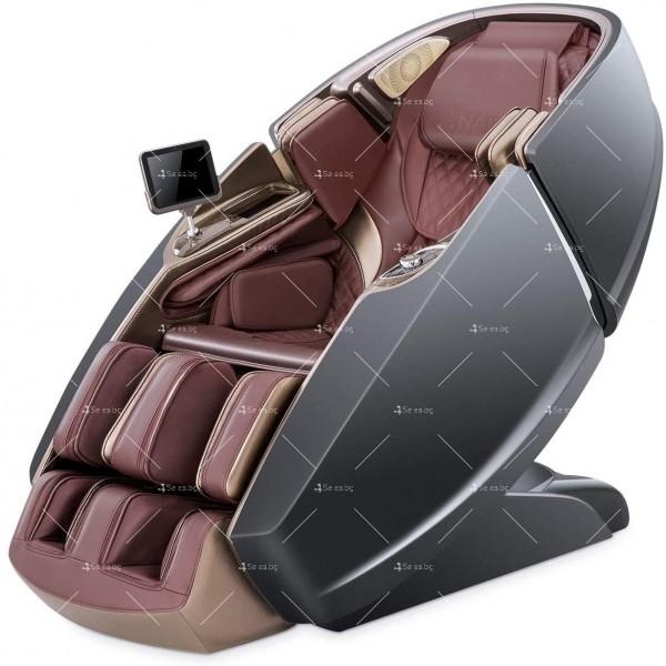 3D масажен стол Naipo с дизайн на пространствена капсула