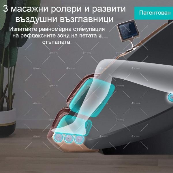 3D масажен стол Naipo с дизайн на пространствена капсула 9
