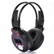 MP3 стерео слушалки PS-398 с дисплей и слот за micro SD