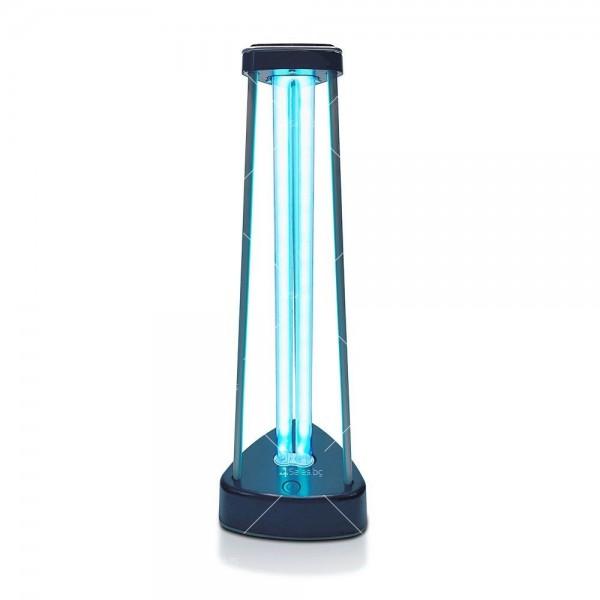 UV-C бактерицидна антивирусна лампа с озон, мощност 38W