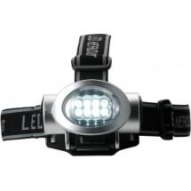 Мощен фенер за глава с 8 LED светлини
