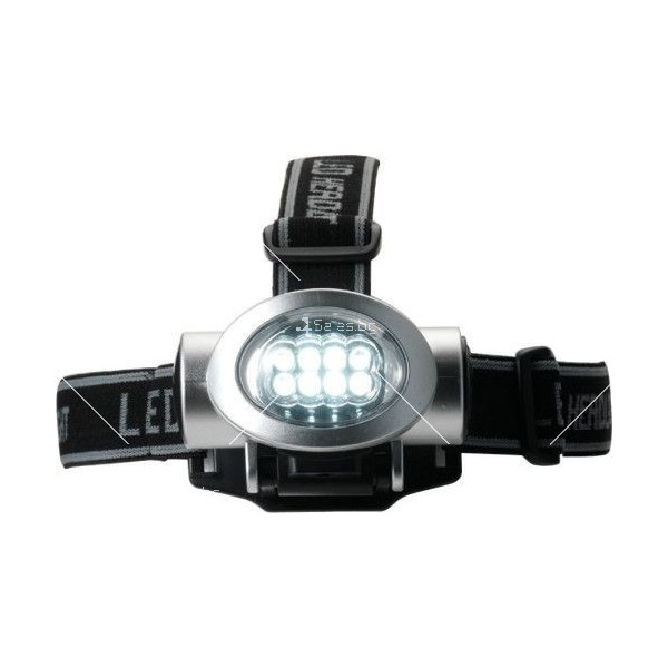 Мощен фенер за глава с 8 LED светлини FL89 6