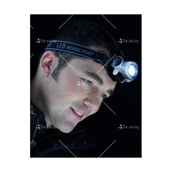 Мощен фенер за глава с 8 LED светлини FL89 3