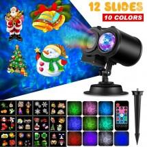 Проектор 2 в 1 Water wave с 12 цветни карти TV714