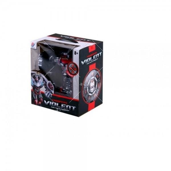 Трансформиращ се робот JQ Troopers Violent - TT667B 2