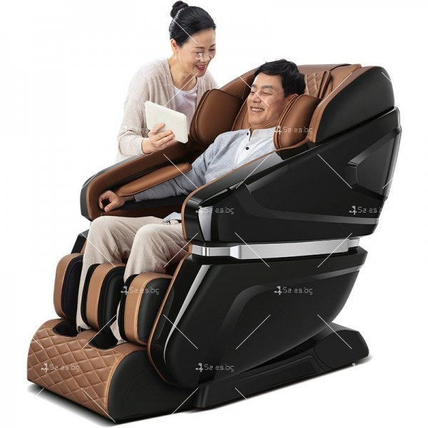 Изключителен луксозен масажен стол, мини SPA център с нулева гравитация модел M8 4